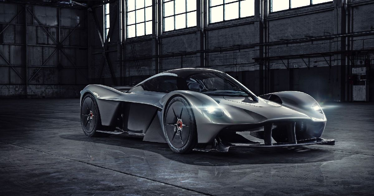 Here's What Makes The Aston Martin Valkyrie A Special Supercar