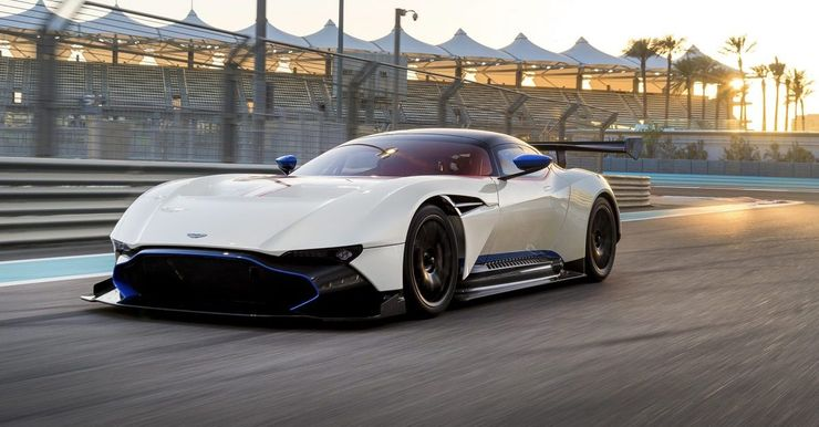 Aston Martin Vulcan 10 Components That Make It Worth The Price