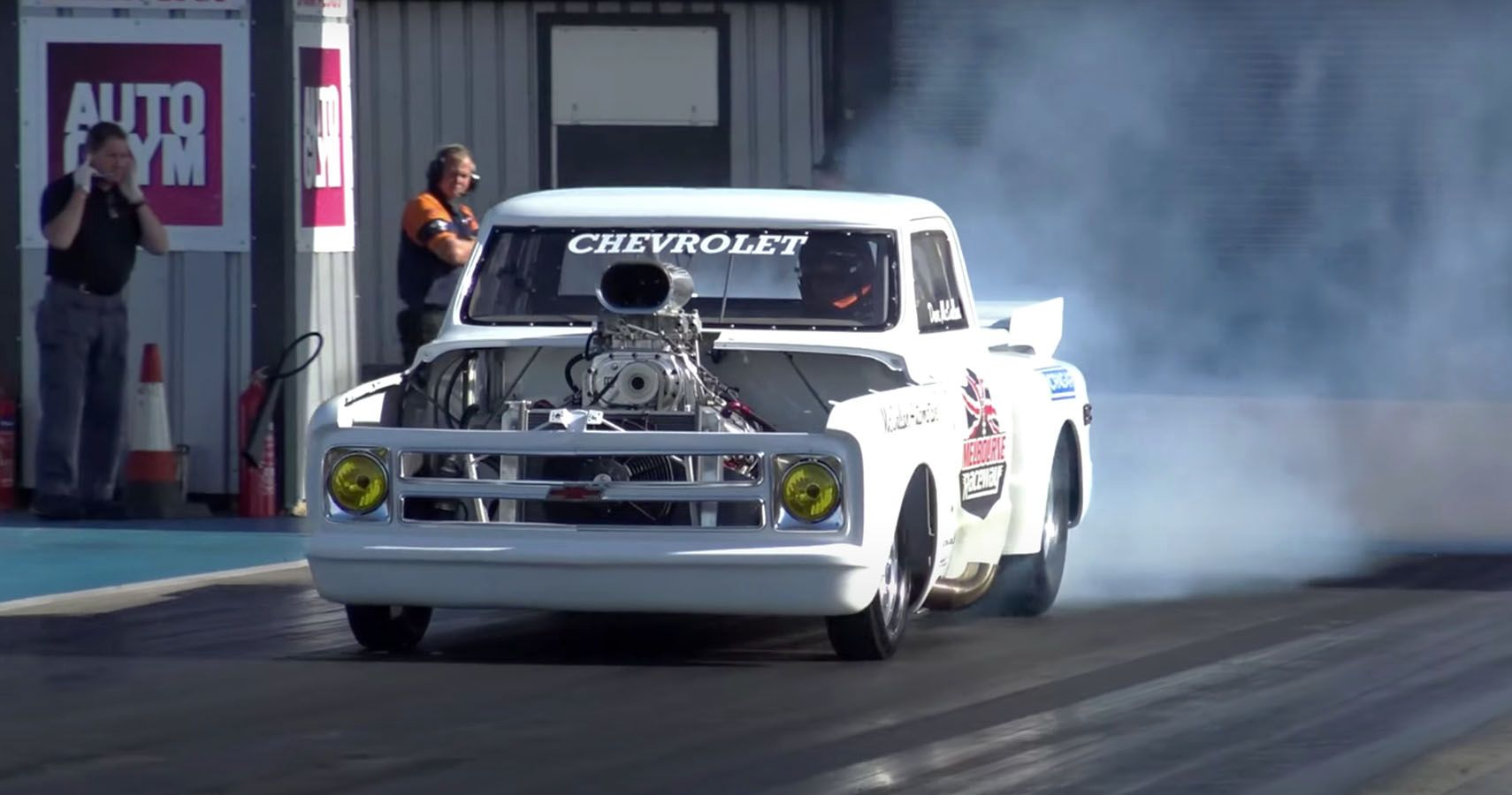 Drag Racing: Watch This Blown Chevy C10 Take The Quarter Mile In 9.3-Seconds