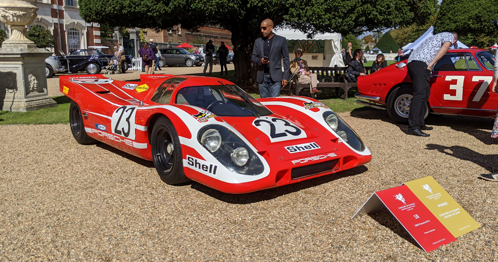 Porsche's First Le Mans 24 Hours Victor Wins Again At Concours Of Elegance