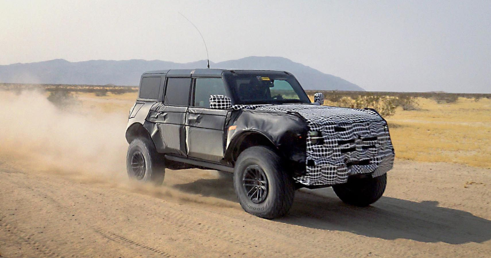 Ford Teases A Bronco With Some Giant Hooves