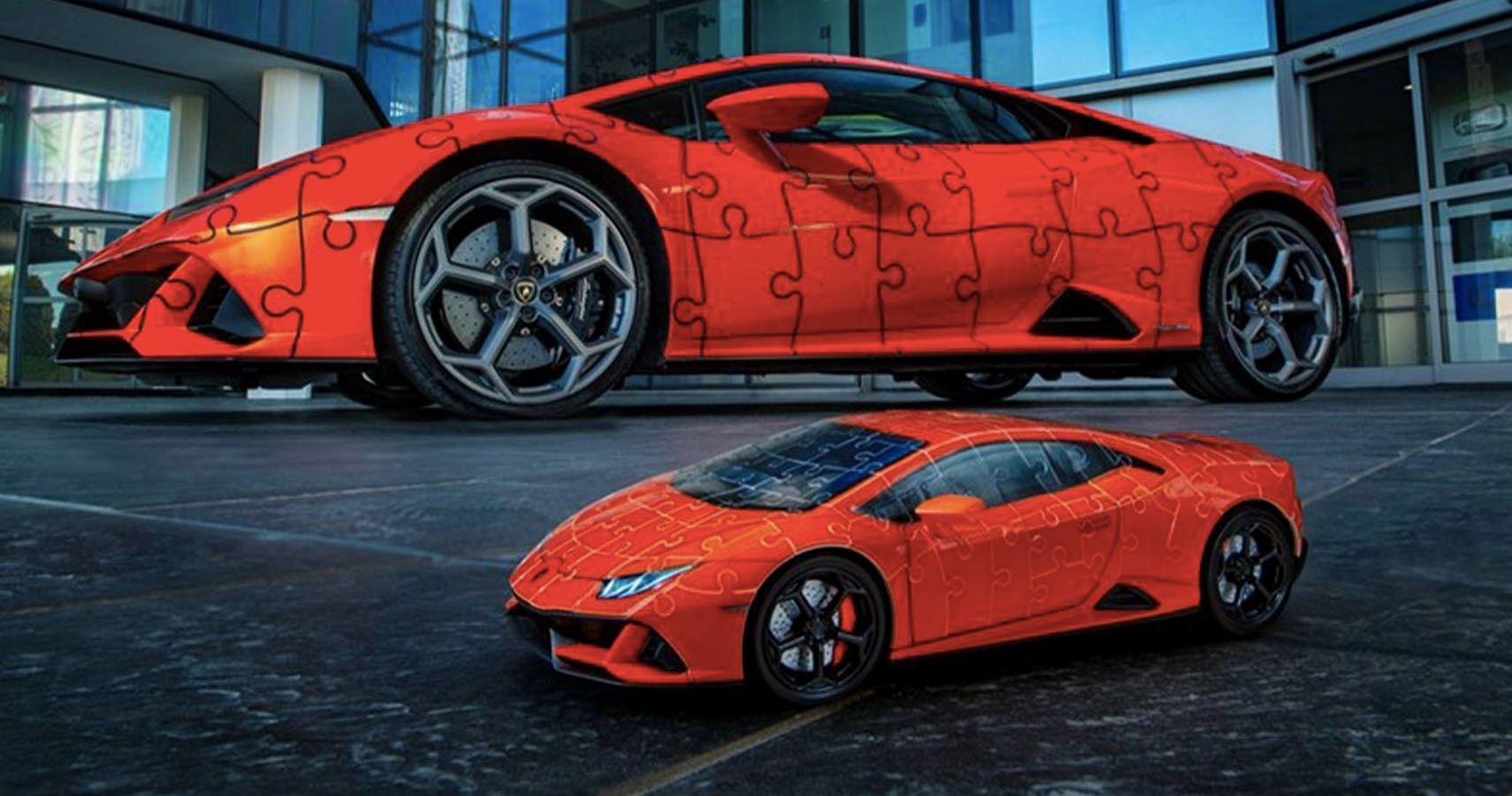 Lamborghini Unveils Huracan EVO 3D Jigsaw Puzzle