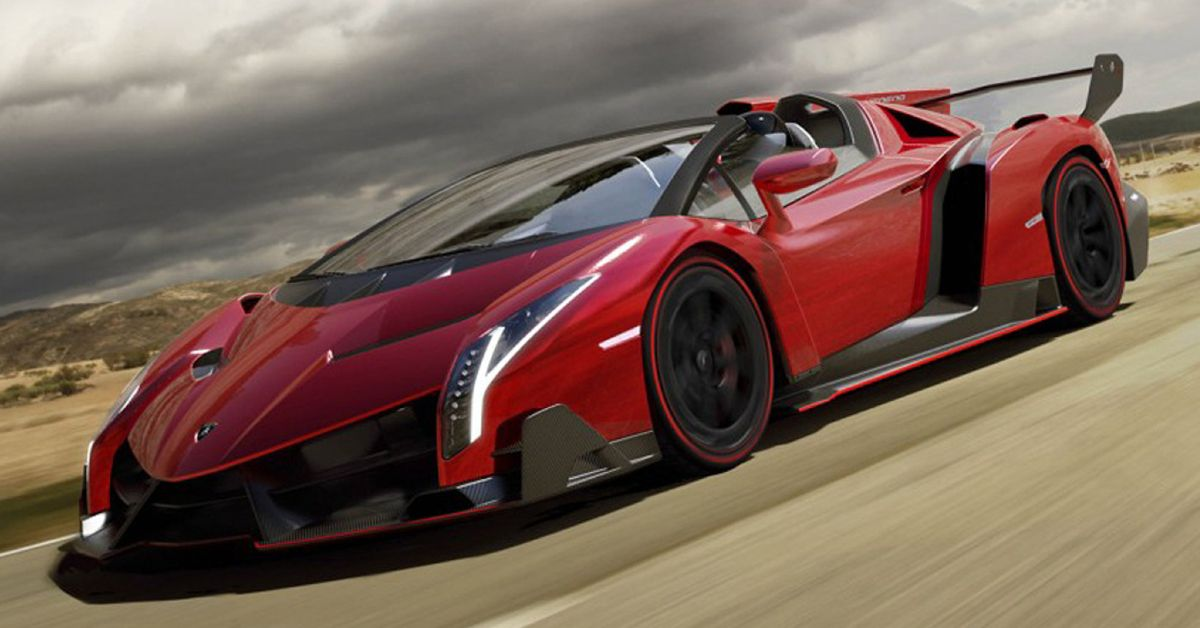 Here's Why The Lamborghini Veneno Is Worth Over $8 Million