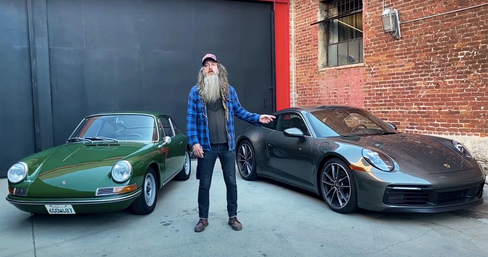 Magnus Walker Drives The New Porsche 911 Carrera S, The Non-Turbo Turbo