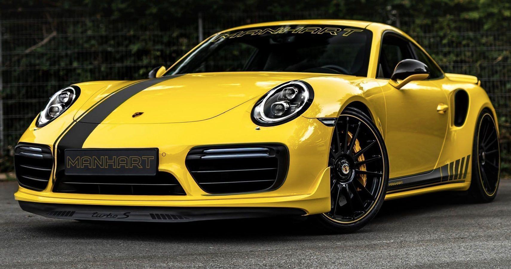 Manhart Unveils 850-HP Porsche 911 Turbo S