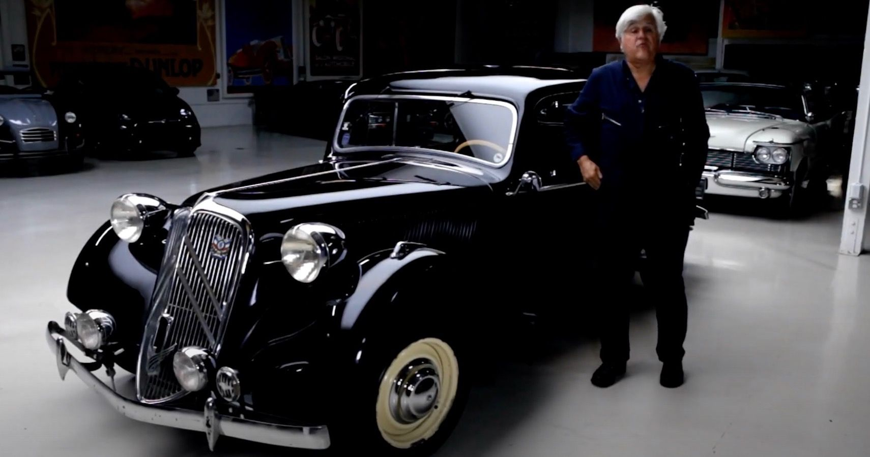 Jay Leno's Garage Highlights Classic '49 Citroen Wildly Advanced For Its Time