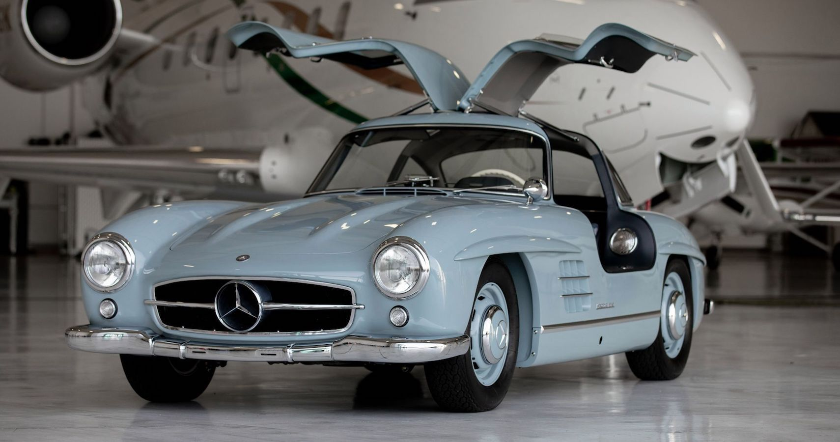Bring A Trailer: Uber-Rare 1957 Mercedes-Benz 300SL Gullwing Sells For $1,152,000