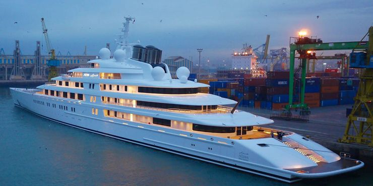 Here's How Much It Cost To Build The World's Most Expensive Luxury Yacht Azzam - cover