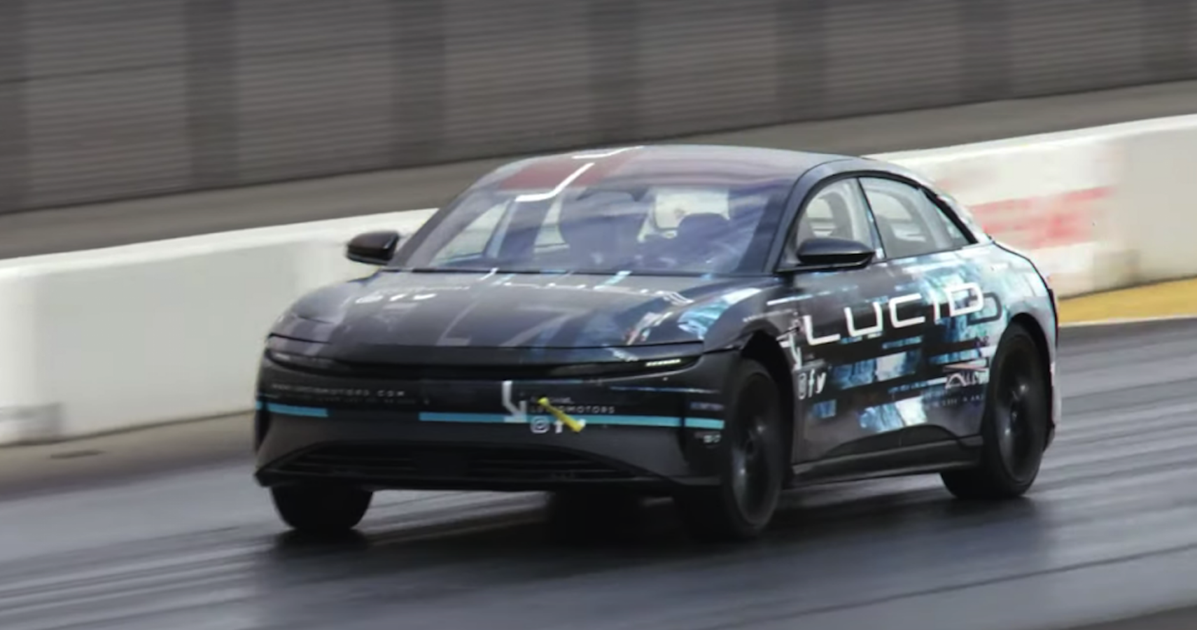 All-Electric Lucid Air Rockets Past Tesla Model S In 9.9 Second Quarter Mile Run