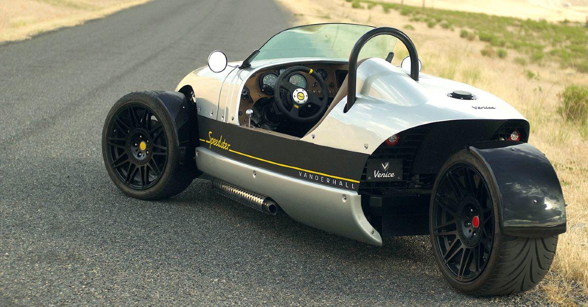 Is The Vanderhall Speedster The Ultimate 3 Wheel Car?