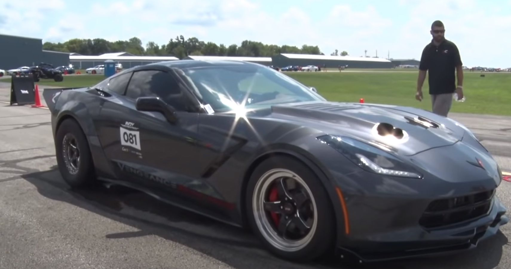 Watch This C7 Corvette Break The 200-MPH Barrier