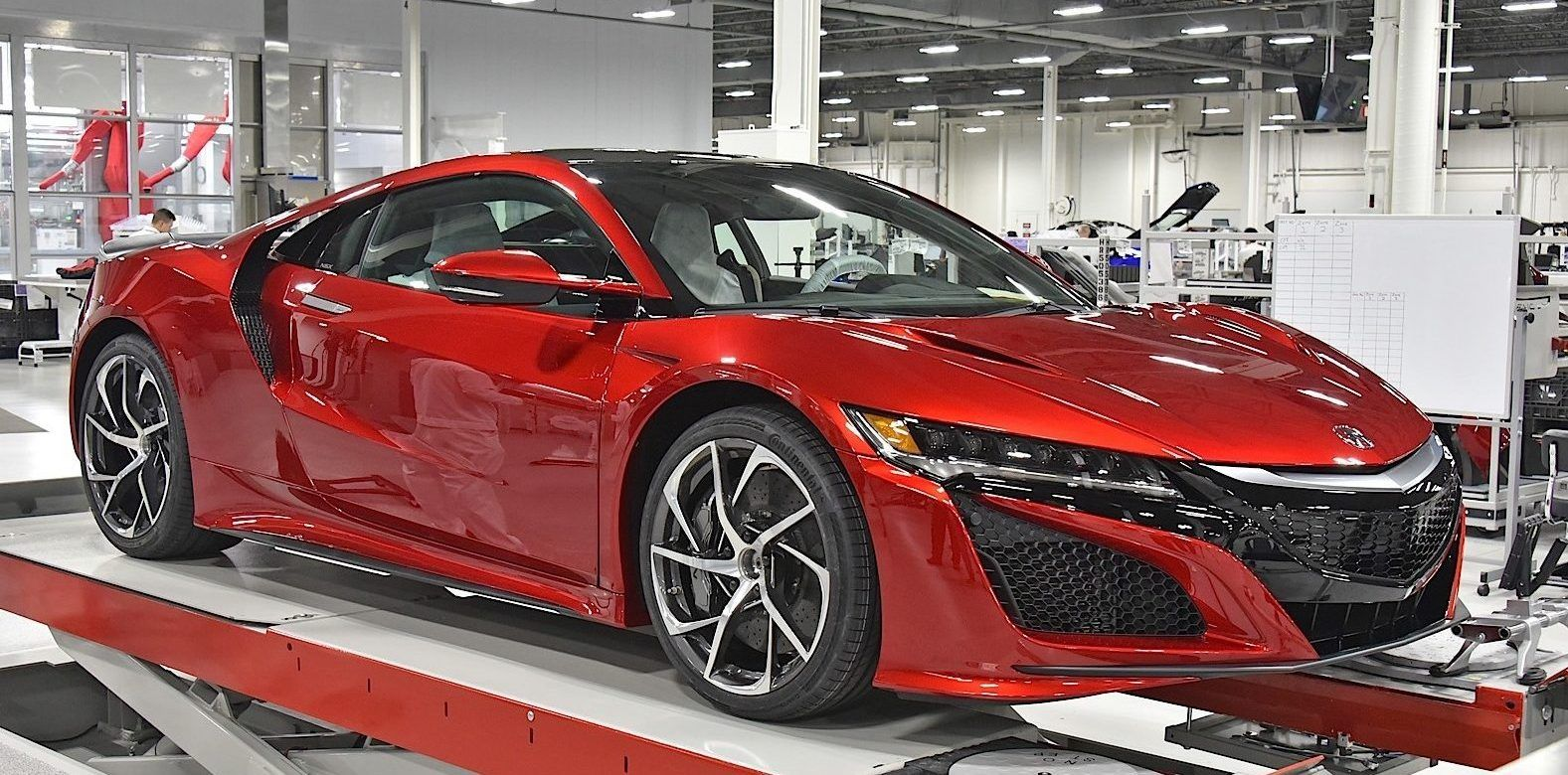 A Detailed Look At Honda's Advanced NSX Factory