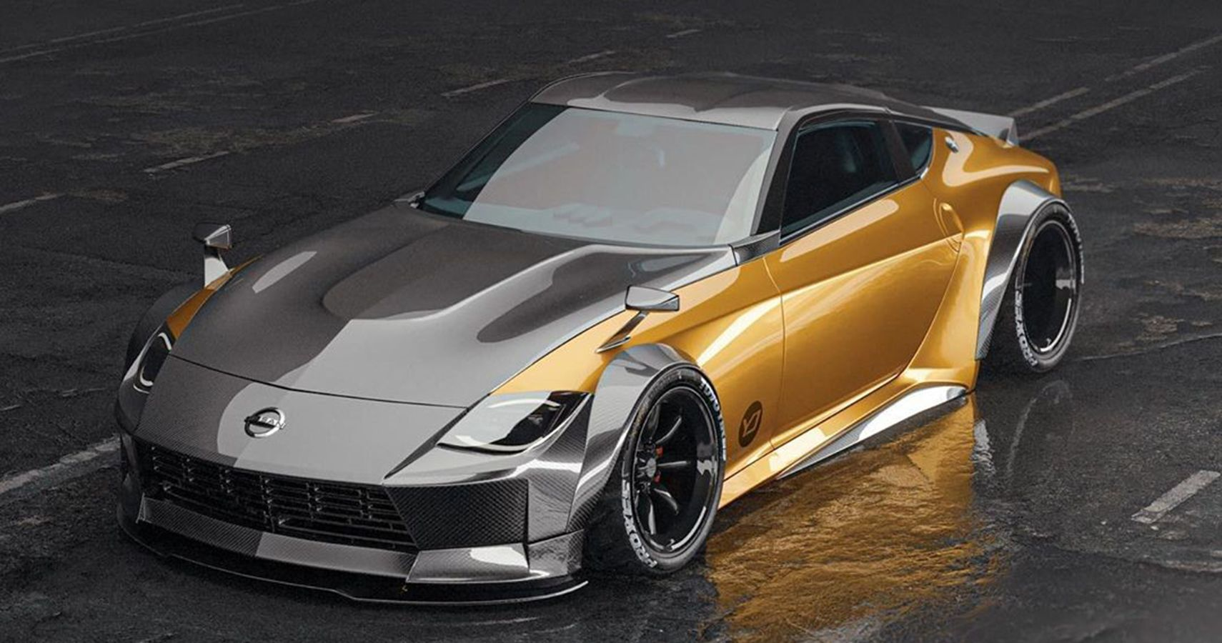 This Is What The Nissan Z Proto Should Look Like, According To Artist's Renderings