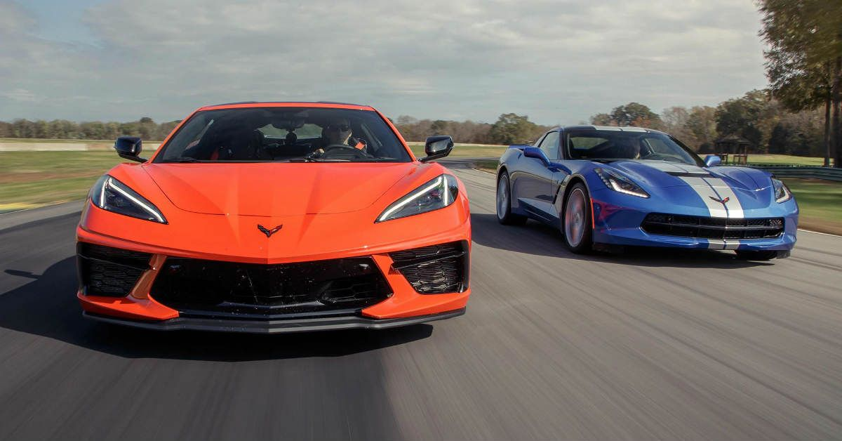 10 Biggest Differences Between The 2015 C7 Corvette And 2020 C8