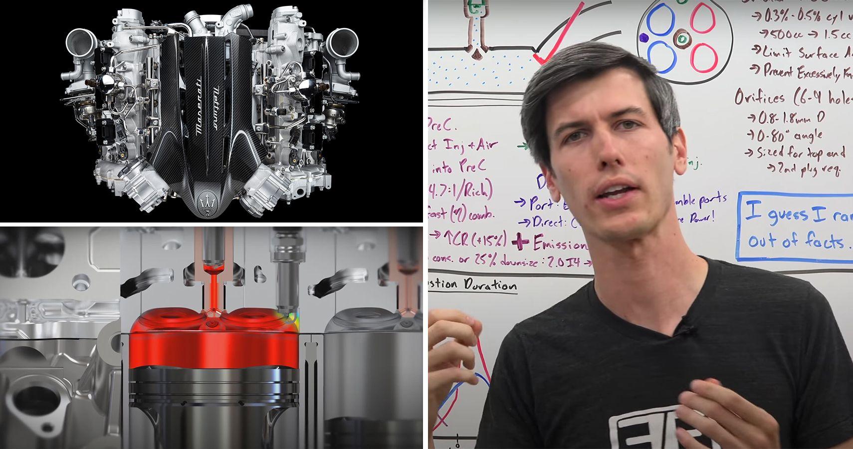 Engineering Explained Shows How Maserati MC20's New Nettuno Engine Works