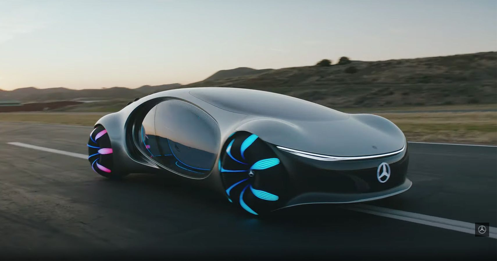 Mercedes-Benz Vision AVTR Explained And Tested In New Video