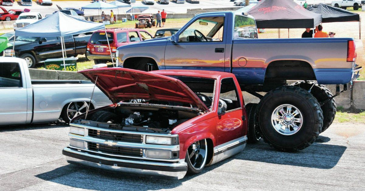5 Pickup Trucks Built To Be Lifted 5 That Are Meant To Be Slammed