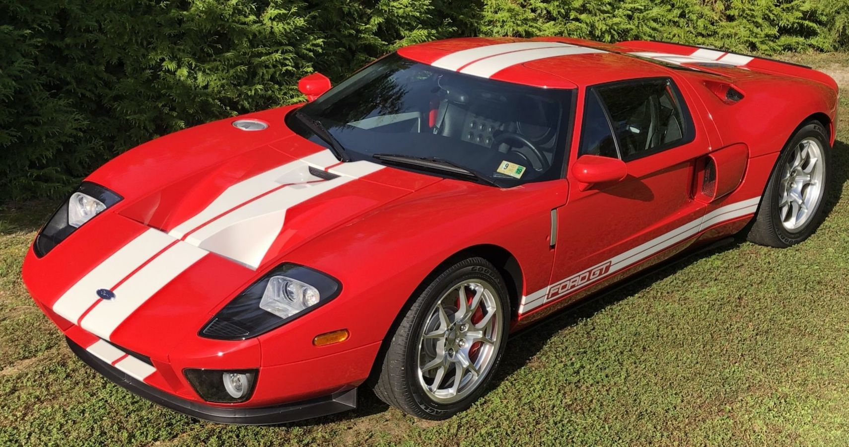 Bring A Trailer Find: Red 2005 Ford GT With Only 1100 Miles