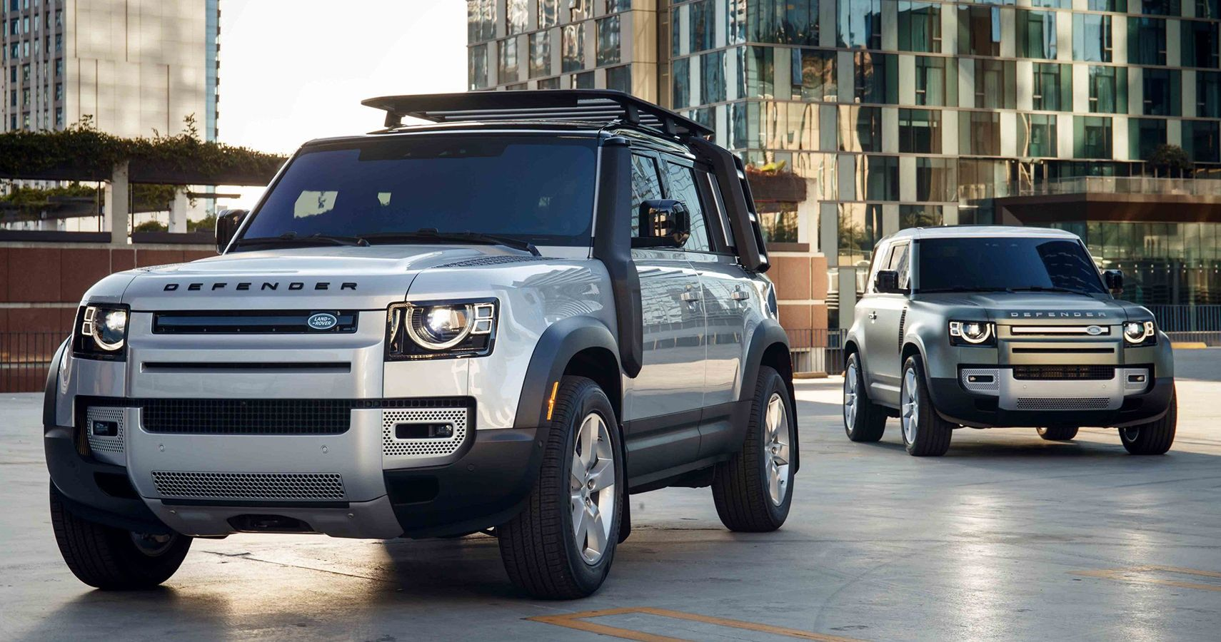 Here's Everything We Know About The 2023 Land Rover Defender 80