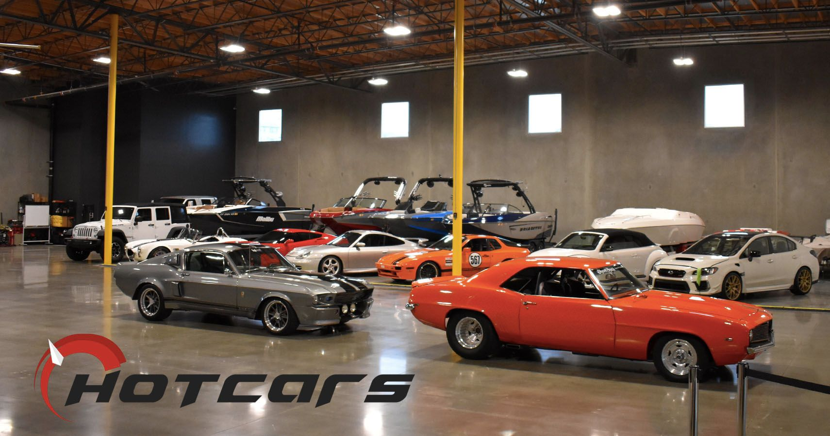 EXCLUSIVE: HotCars Checks Out The Barrett Automotive Group In SoCal