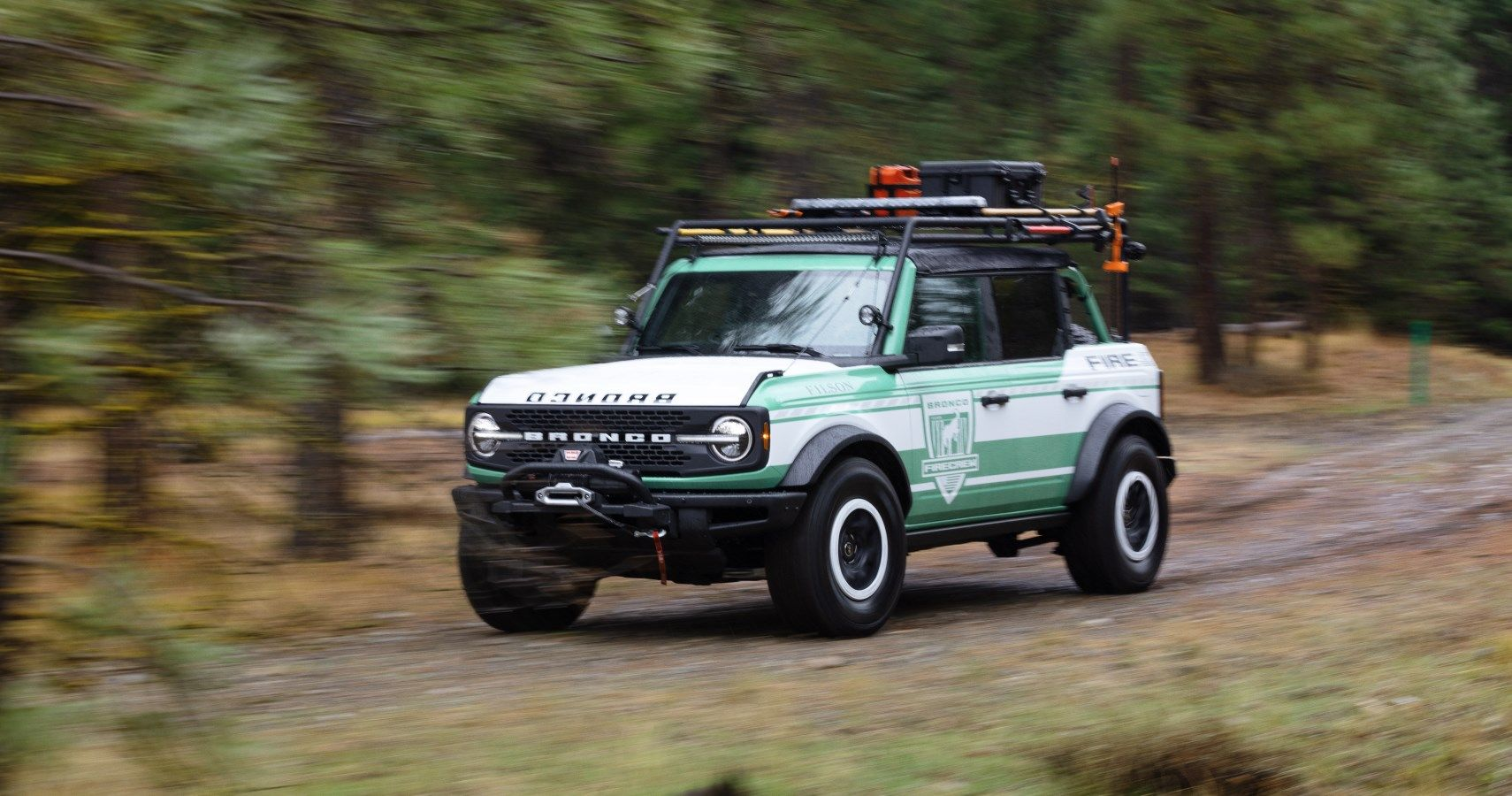 Ford's New Bronco Concept Is A Rugged Firefighting Rig | HotCars