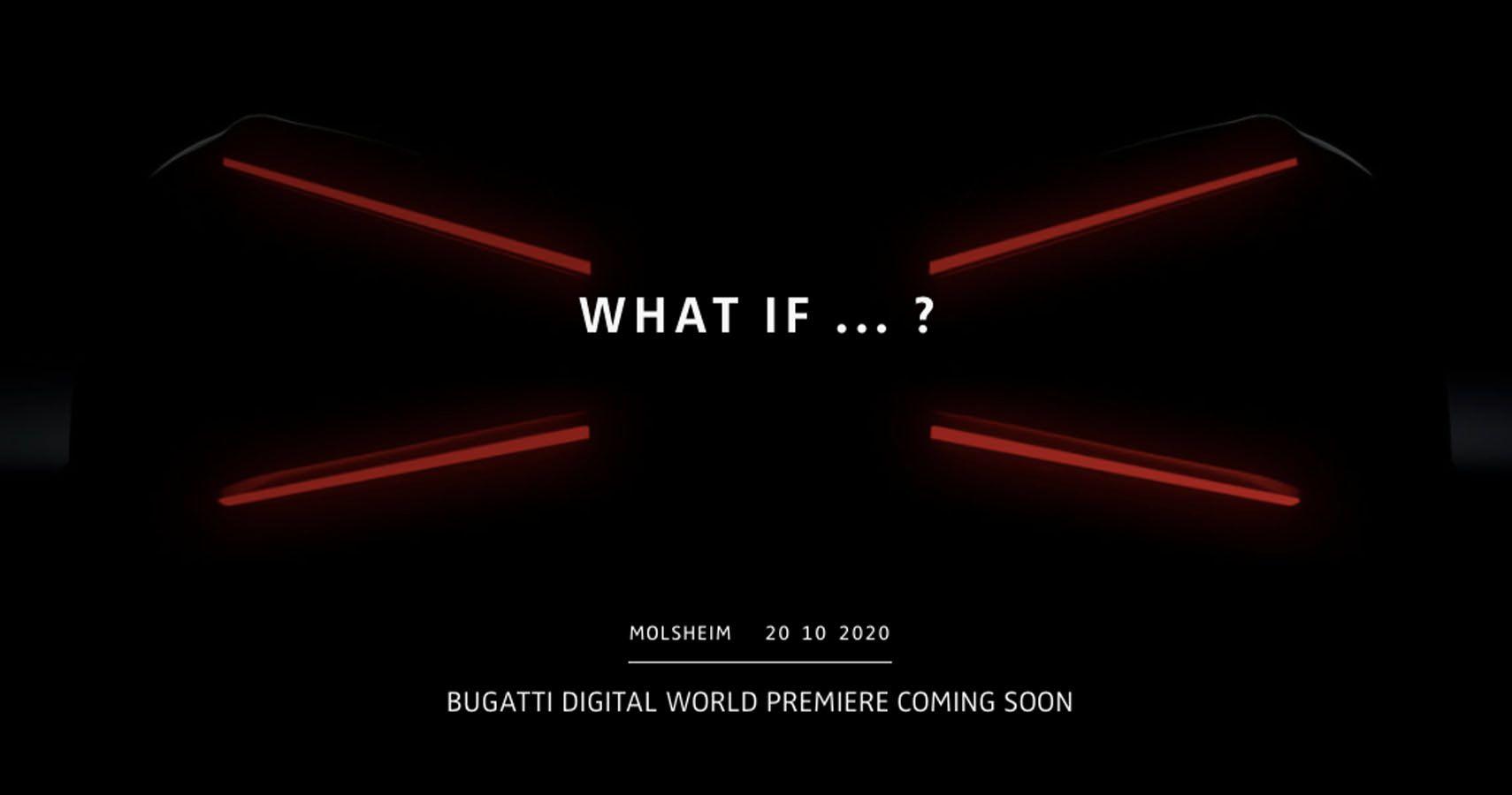 Bugatti Teases New Hypercar Unveil Coming Soon   HotCars