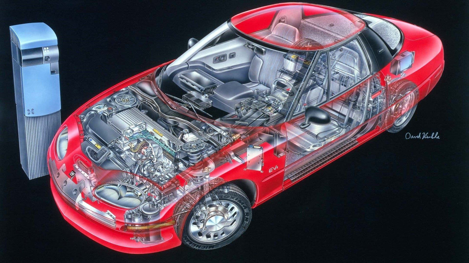 This Was GMs First Attempt To Mass Produce An Electric Car