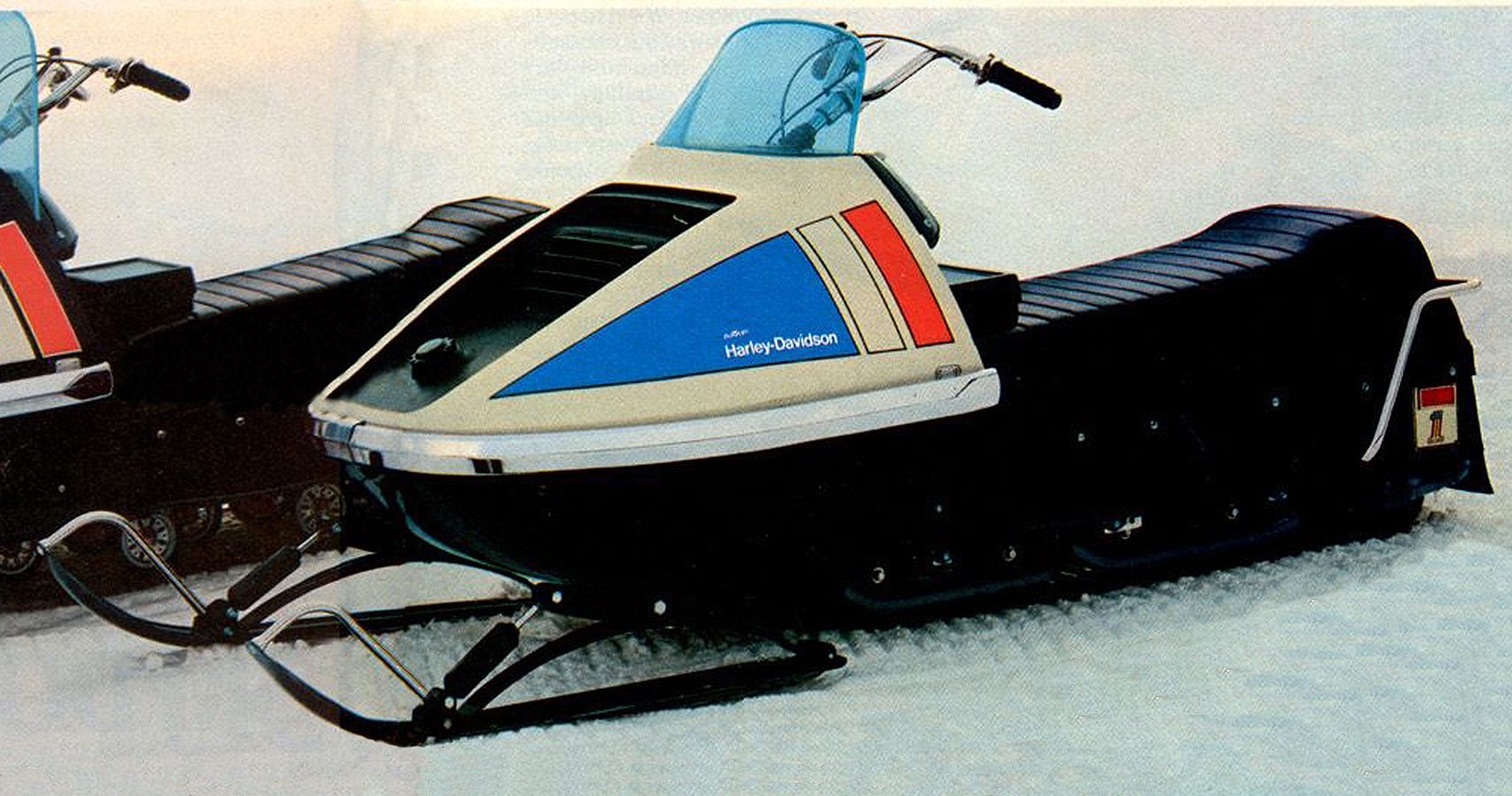 Here's What Happened To The Harley-Davidson Snowmobile Division
