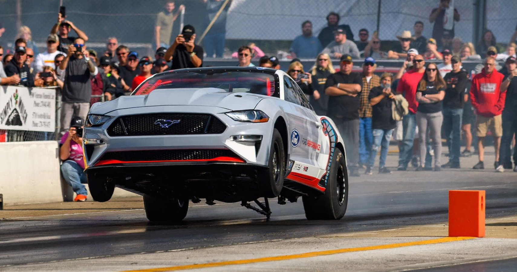 Ford Performance Takes The Mustang Cobra Jet 1400 To Holley Ford Festival