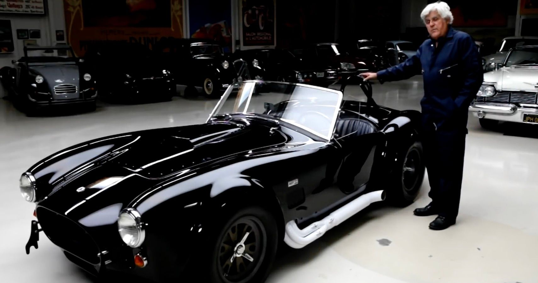 Jay Leno's Garage Shelters Rare 1 Of 23 Shelby Cobra Competition 427s From Wildfires