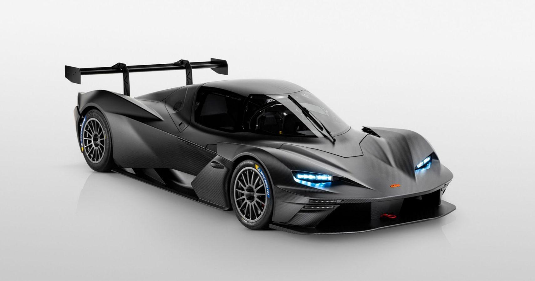 KTM Unveils Full Carbon Fiber X-BOW GTX Race Car With Jet Fighter Canopy