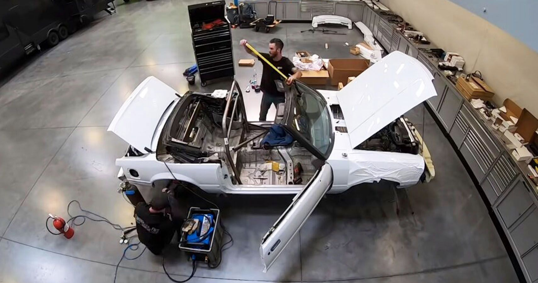 The Hoonigans Build Fox Body Mustang Drift Car For Giveaway
