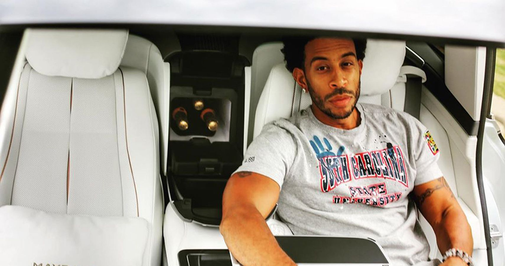 Ludacris Seen Literally Rocking His Mercedes Maybach On Instagram
