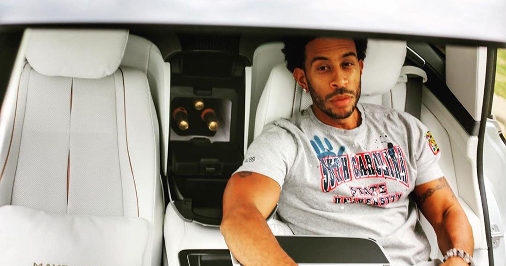 Ludacris Seen (Literally) Rocking His Mercedes-Maybach on Instagram