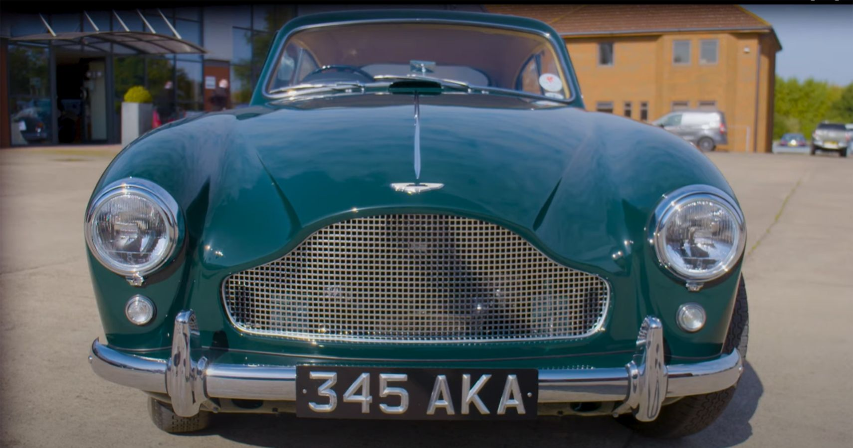 Watch An Abandoned Aston Martin Restored To Its Original Greatness