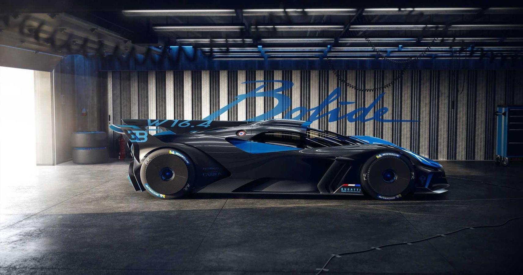 The New Bugatti Bolide Is A Track Only Speed Demon | HotCars