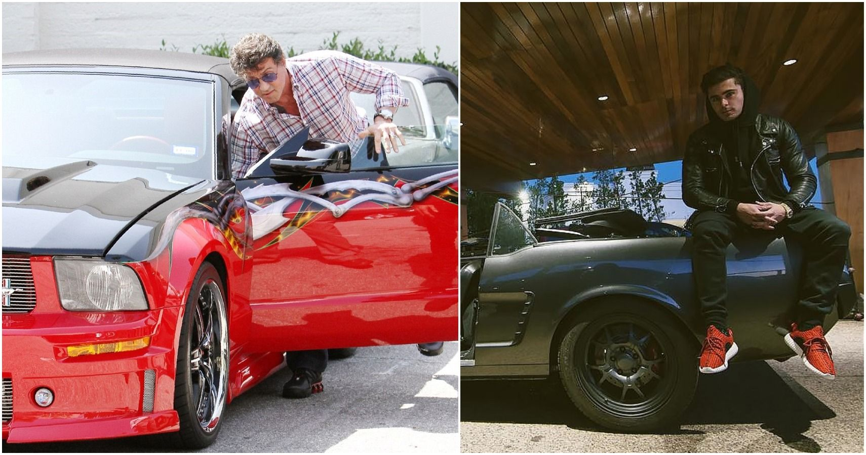 10 Celebrities Who Own And Enjoy Their Badass Mustangs