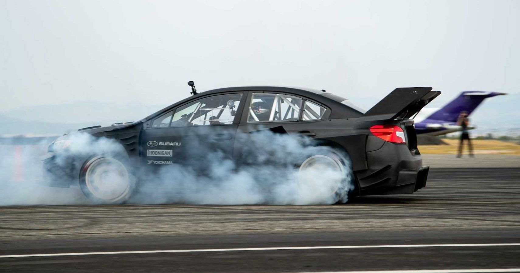 Travis Pastrana Continues The Gymkhana Legacy In New Tire Test Demo
