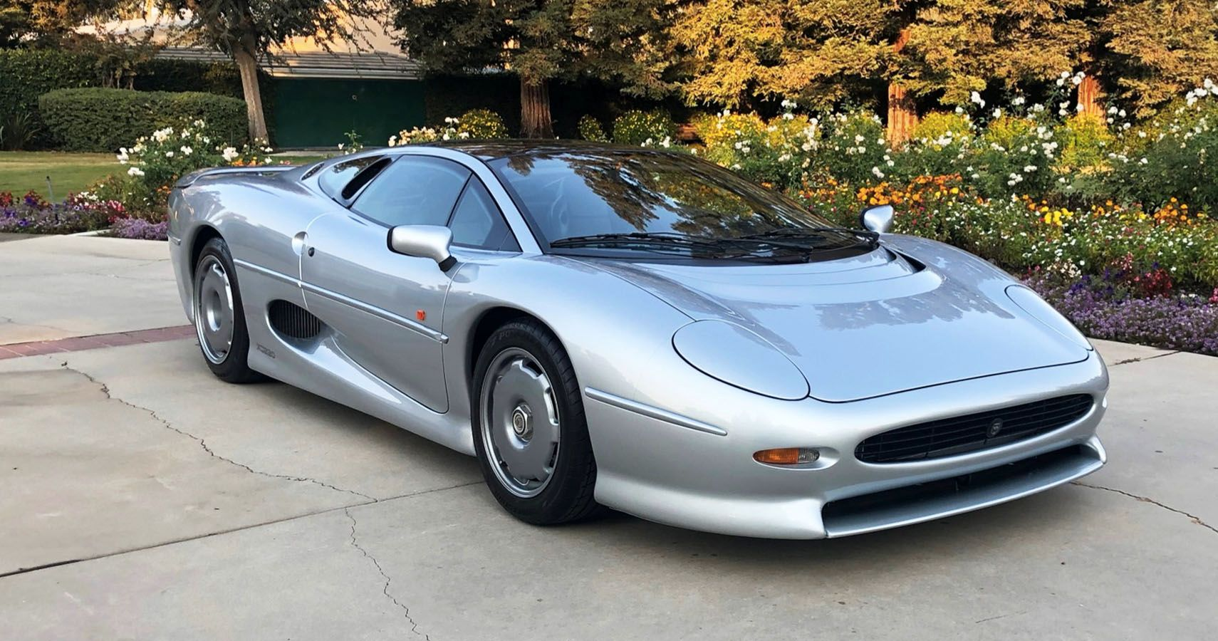 Ultra-Rare Jaguar XJ220 Supercar Hiding Out In Fresno Pops Up On Bring A Trailer
