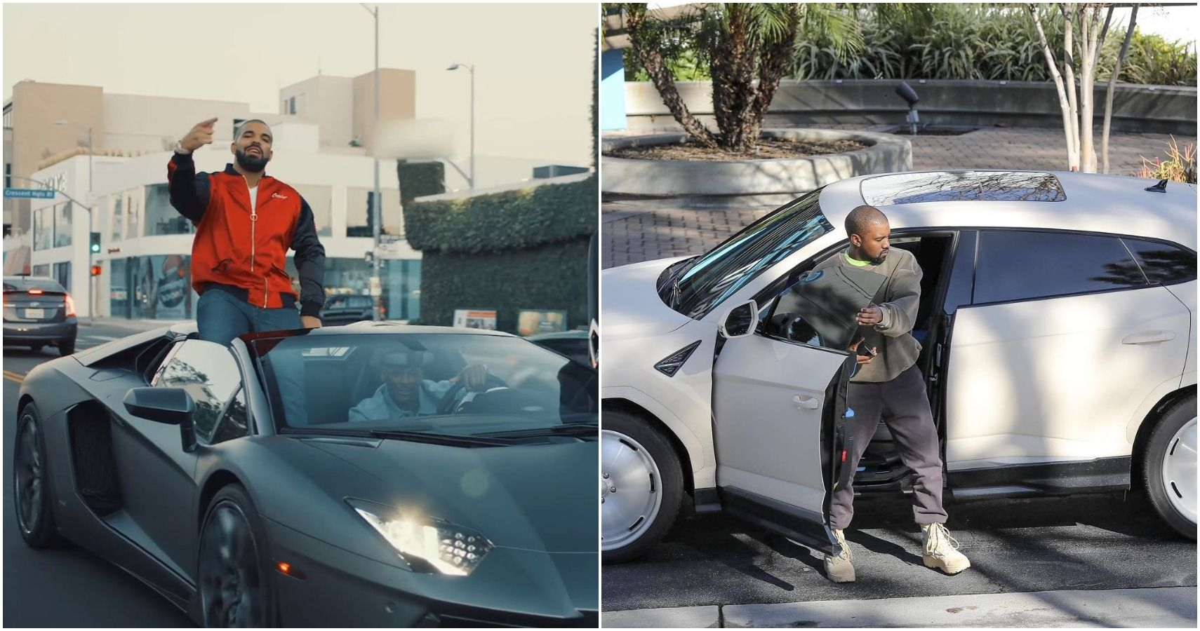 Kanye West Vs Drake: Which Rapper Has The Better Car Collection?