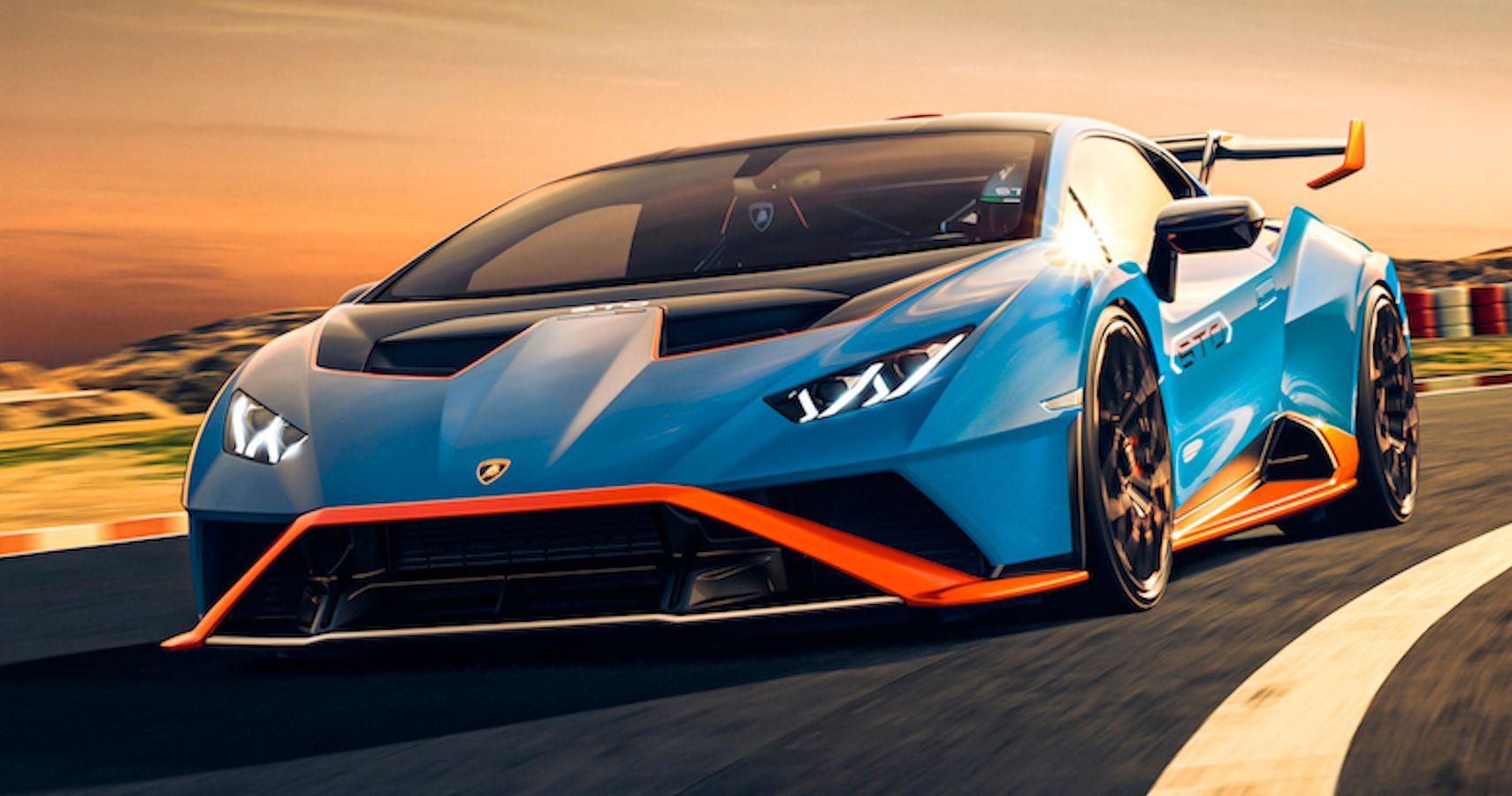 Lamborghini Reveals Huracan STO: A Homologation Special With 620 Horsepower