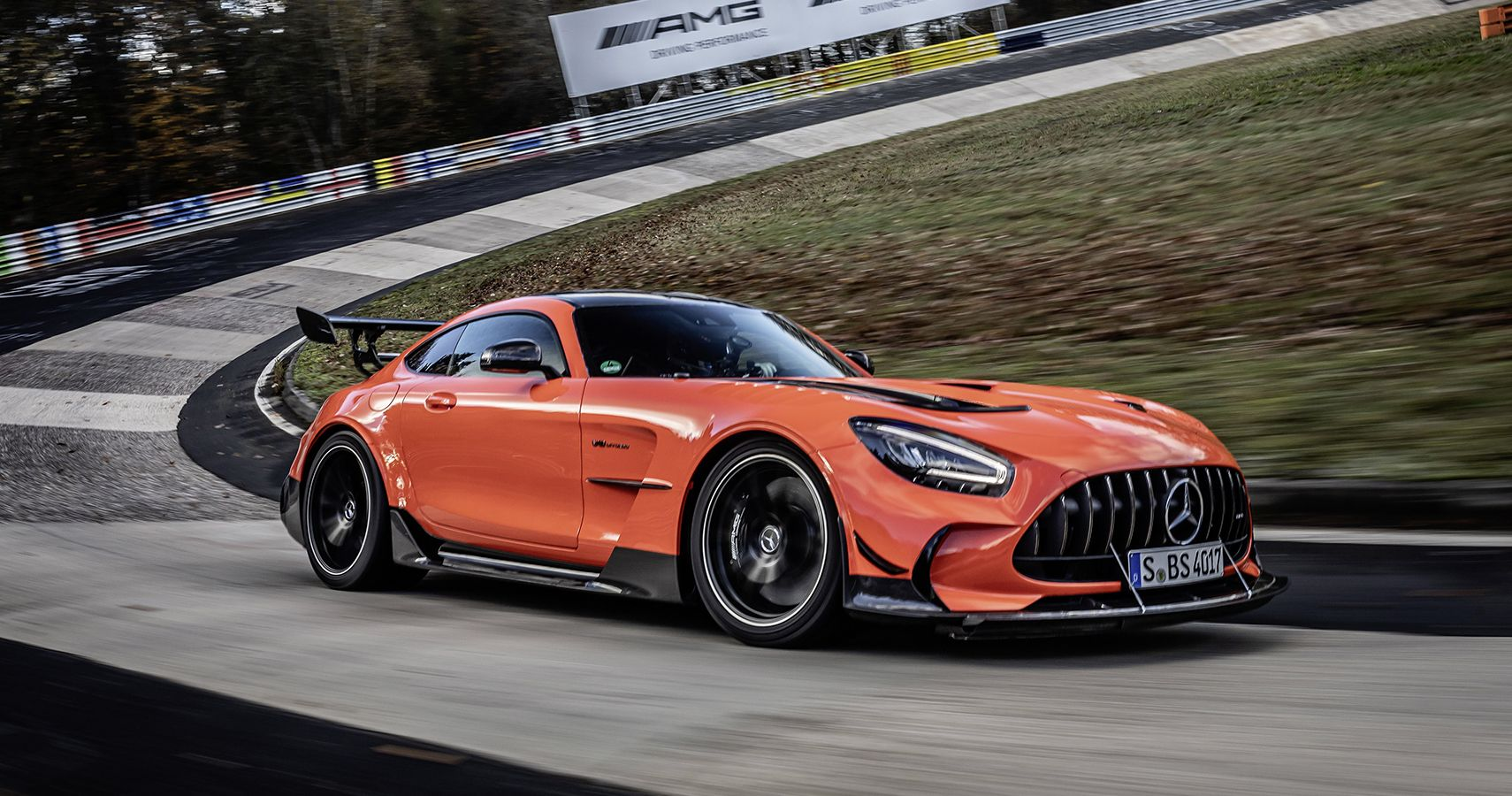Lord Of The 'Ring: Mercedes-AMG GT Black Series Breaks Nurburgring Record For Fastest Production Car