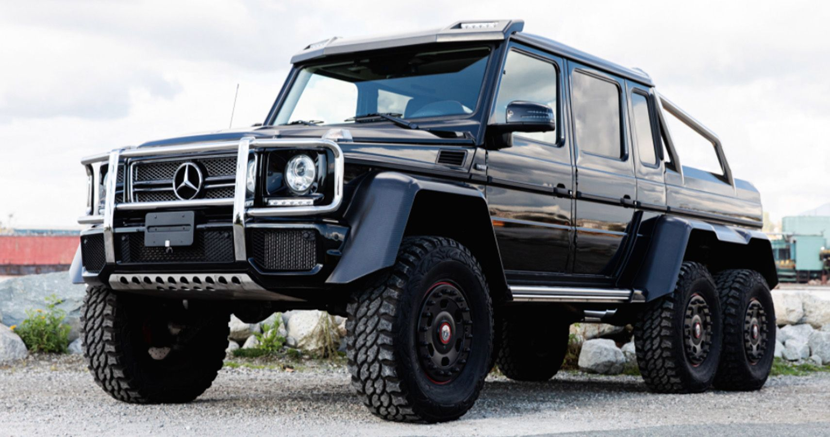 Bring A Trailer Please Take This 500 000 Mercedes G Wagen 6x6 Off Roading