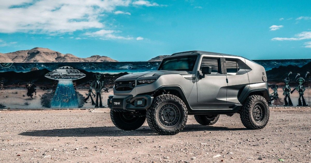 This Is The Sickest Rezvani Tank Military Edition We Could Configure