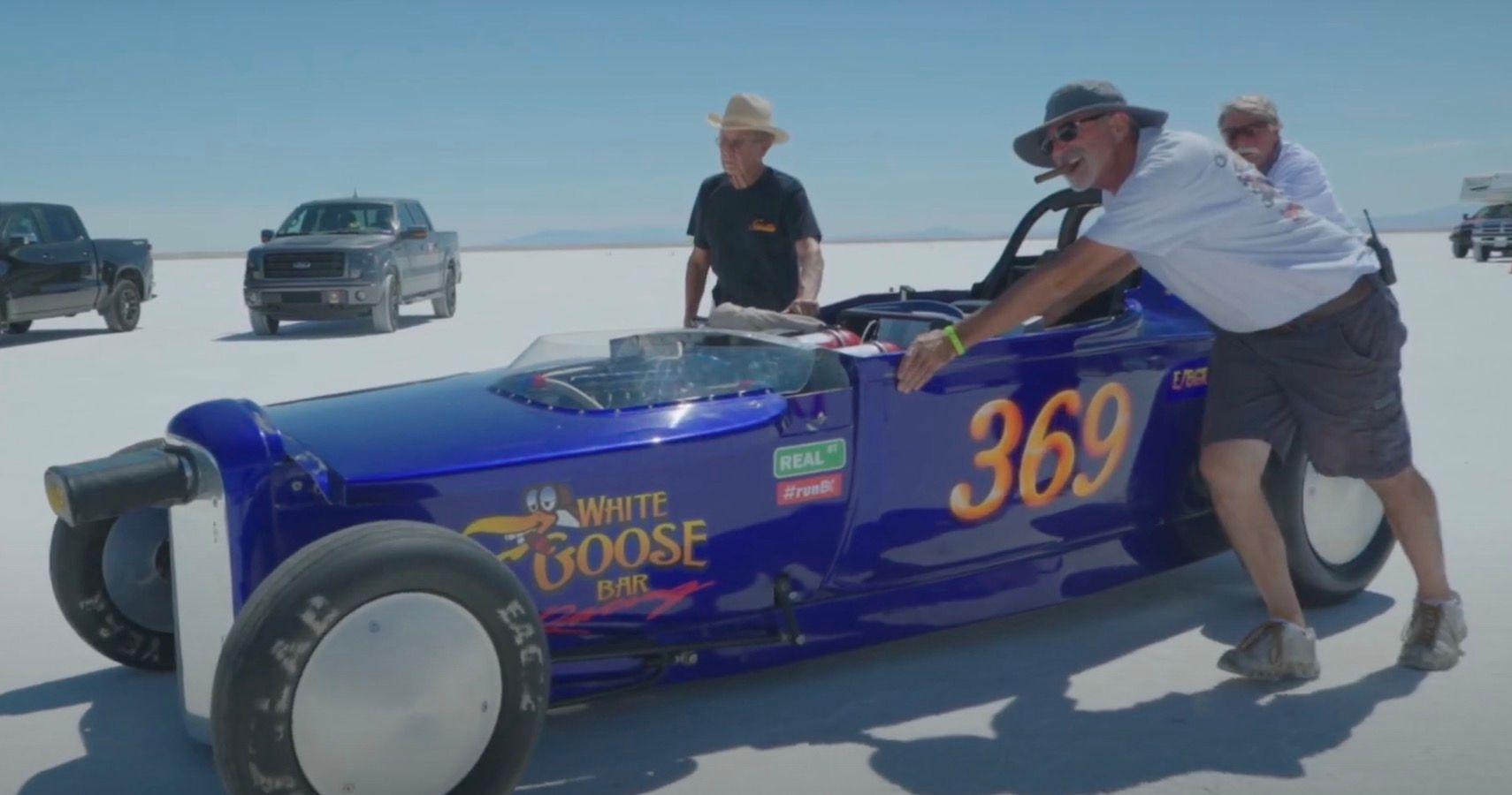 Watch This 2JZ Roadster Notch An Impressive 263 MPH Run At Bonneville Salt Flats
