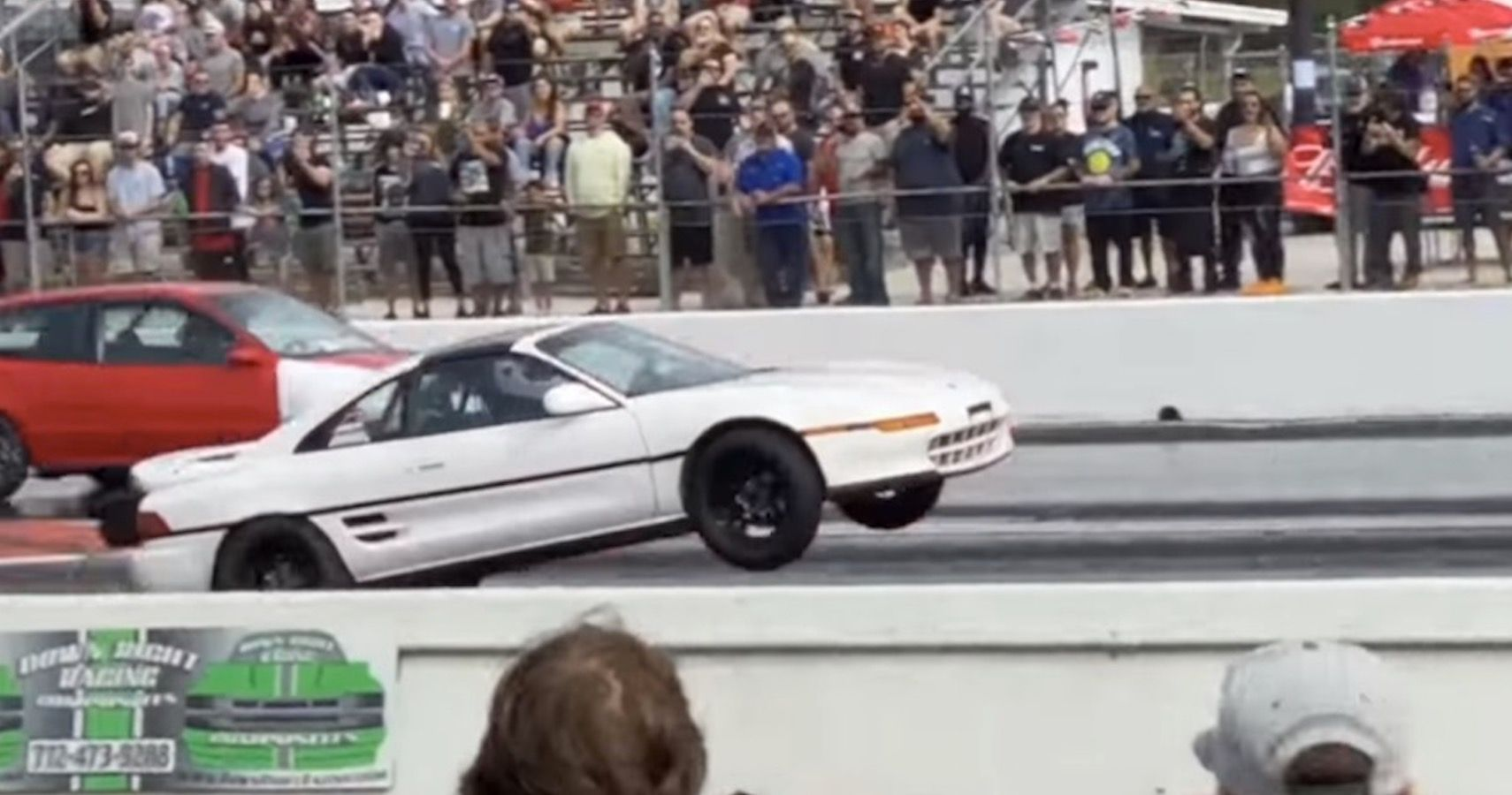 Watch This Twin-Turbo Toyota MR2 Pull Off A Long Wheelie During 8.6s Quarter-Mile Run