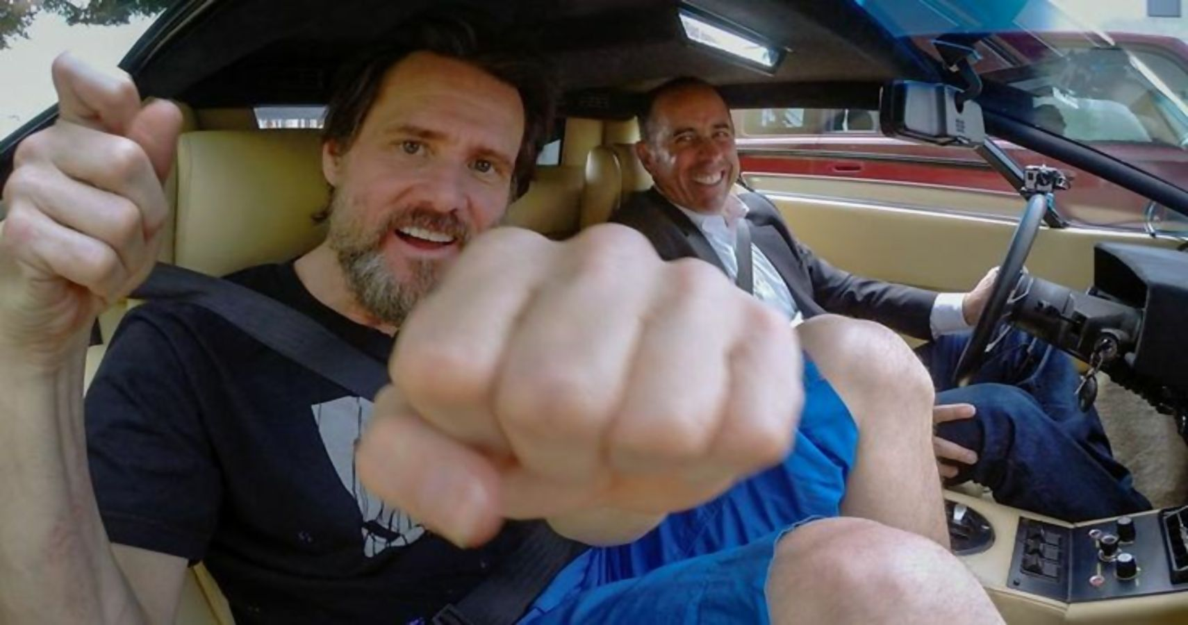 Here's What Jim Carrey Drives