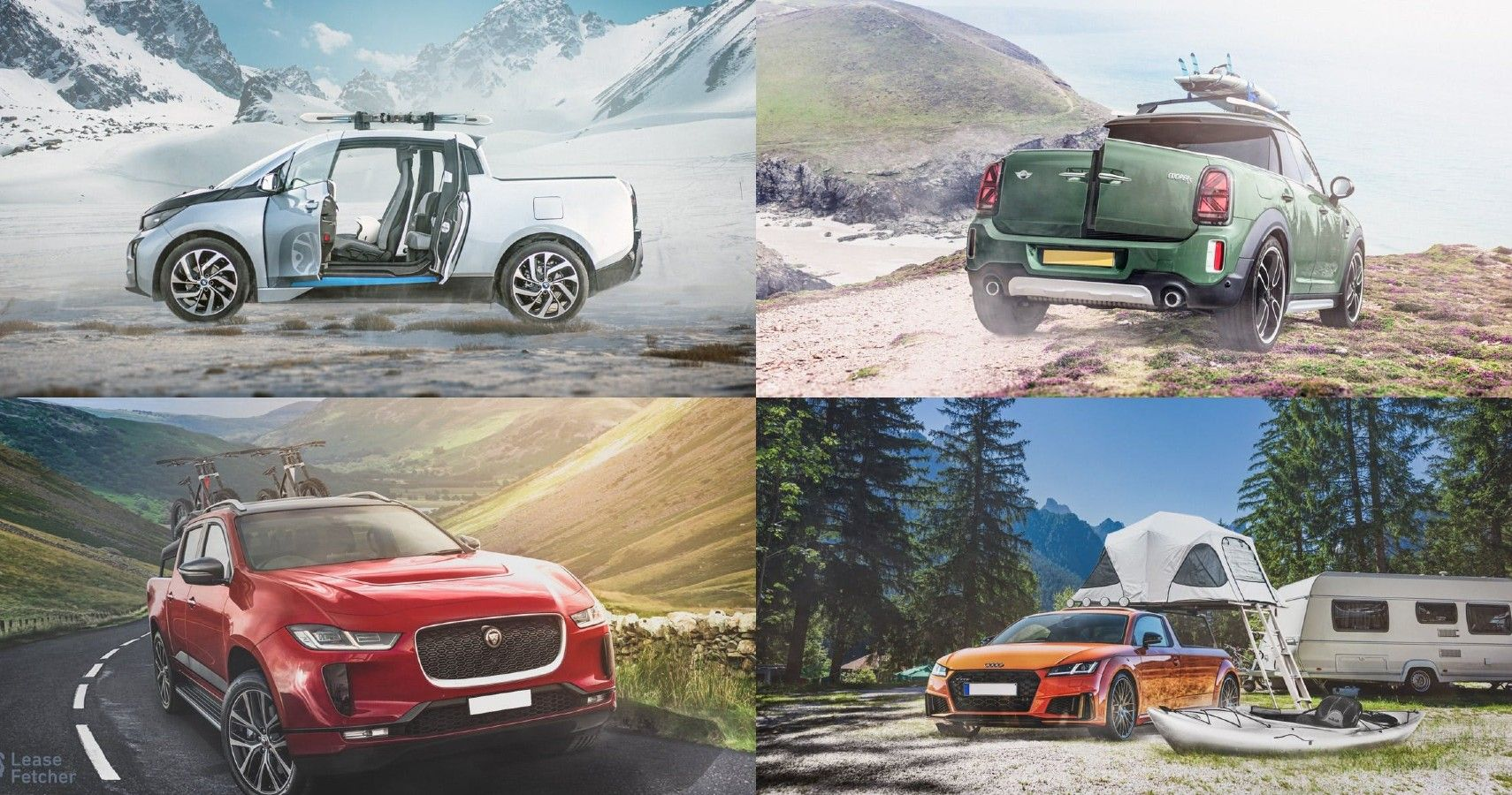 Check Out These Renderings Of Popular Cars Reimagined As Pickup Trucks