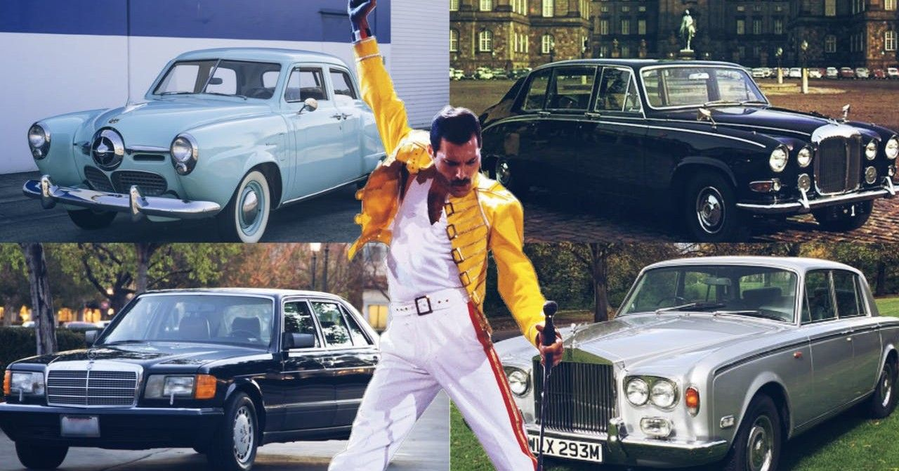 Freddie Mercury Owned Some Truly Fabulous Rides