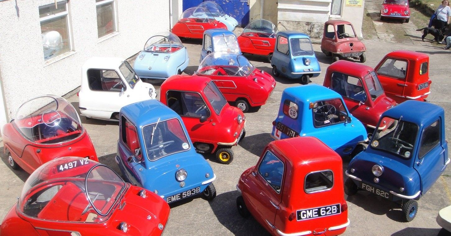 Peel P50: The Slowest And Smallest Car In The World (And Where To Buy A Brand New One)